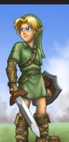Young Link - Twilight Princess by treijim
