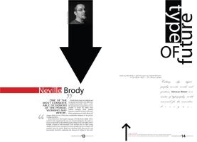 Neville Brody Exhibition by seminis
