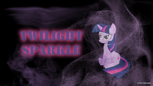 Twilight Sparkle Mist Wallpaper by nsaiuvqart