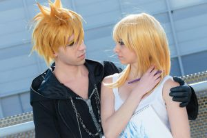 Namine x Roxas - In your eyes by Asteria91