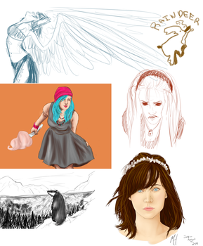 Whoa a Sketchdump by differentoctober