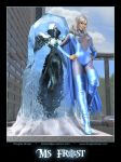 Ms. Frost by Douglas Shuler by Dark-Ether