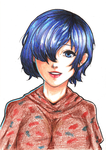TG:re  Touka - I'll see you later, okey? by Anna94K