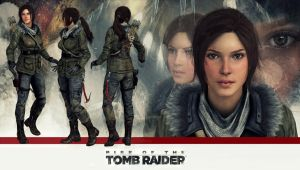 Lara Croft Rise of  the Tomb Raider model release by konradM96