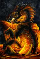 Lava Dragon by Hbruton