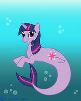 MLP:FIM: Sea Beauty by AvatarRaptor
