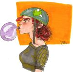 Roller Derby Girl by oilsoaked