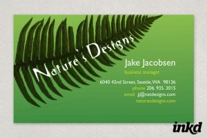 Nature's Designs Landscaping by inkddesign