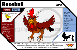 058 - Roosbull by KingsTailor