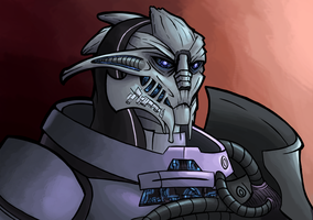 Day 7- Saren by Ric-M