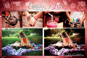 Candy of love PSD by likealovesongbaby