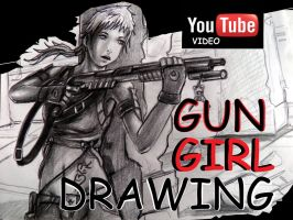 GUN GIRL TIME LAPSE VIDEO by GenKey