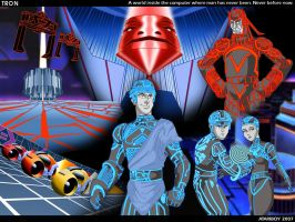 Fav 1982 Films - TRON. by Atariboy2600