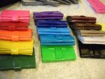 Colored Duct Tape Wallets by duct-tape-pirate