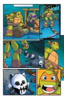 Tmnt Animated #17 by angieness