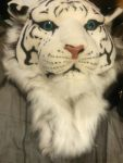 white tiger head backpack by Devilgirl007