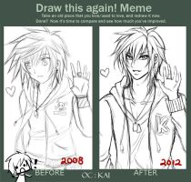 Meme: Before 'n After Kai (2008-2012) by geckguga