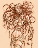 Mummy Momma Colour by Gib-Art-and-Pinups
