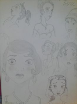 Faces Of Tiana by autumnrose83