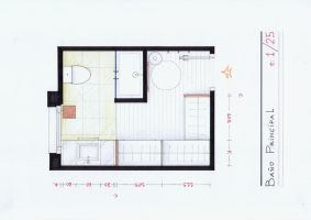 Arantxa's Bath and WIC Plan by nikneuk