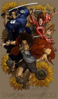 Samurai Champloo colours by PixelKing