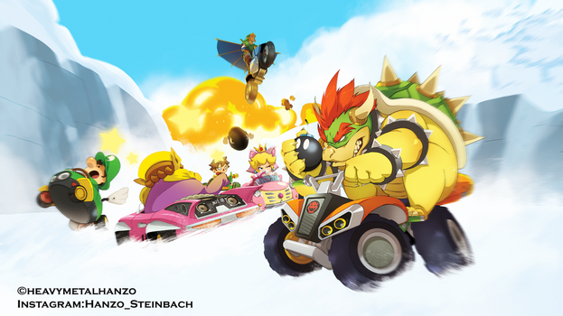 Mario Kart 8-Avalanche Speed by HeavyMetalHanzo