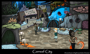 Correef City by TheDragonishCafe