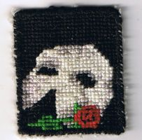 Phantom Mask Patch by Flashgriffin