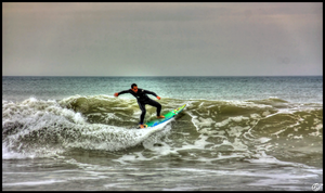 Surfing in Vendee 2 by Moricettekipukipete