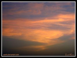 Orange Sky by uae4u