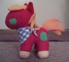Tiny Big Macintosh Plush by Miiroku