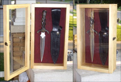 Knife Display by DefiantHeart