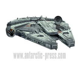 millenium falcon1 by joewight