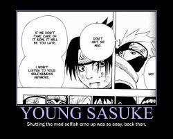 Motivation - Young Sasuke by Songue