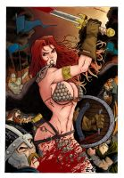 Red Sonja by estevamgarcia