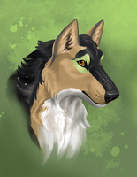 Aliyah portrait by ThunderboltFire