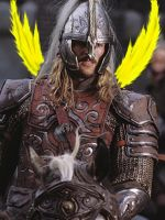 Winged Eomer by TacoDestroyerAvenger