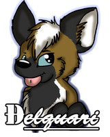 Delquari Badge by Sockune