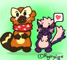 Lovely Couple by RagingLove