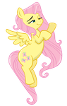 Weird Fluttershy by kas92