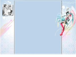 Miku youtube Background 3.0 by xMissGorgous