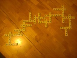 Bananagrams Harry Potter! by Kizuna31