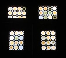 Gent: Castle windows by SilverQuill