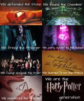 The Harry Potter Generation by moonrays64