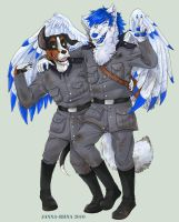 Dog Soldiers -commission- by creepynurse