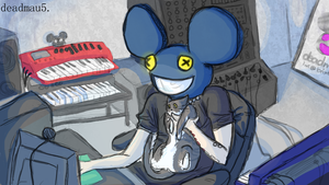mau5 in the haaau5 by xXspongyXx