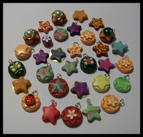Lot of 32 handmade charms by Prepare-Your-Bladder