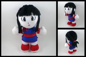 Dragonball Z - Chi Chi plush by eitanya