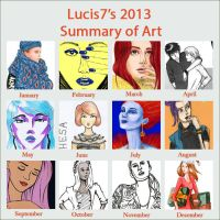 2013 Art Summary by Lucis7