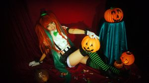 Mrs Pumpkin s funny dream by michivvya